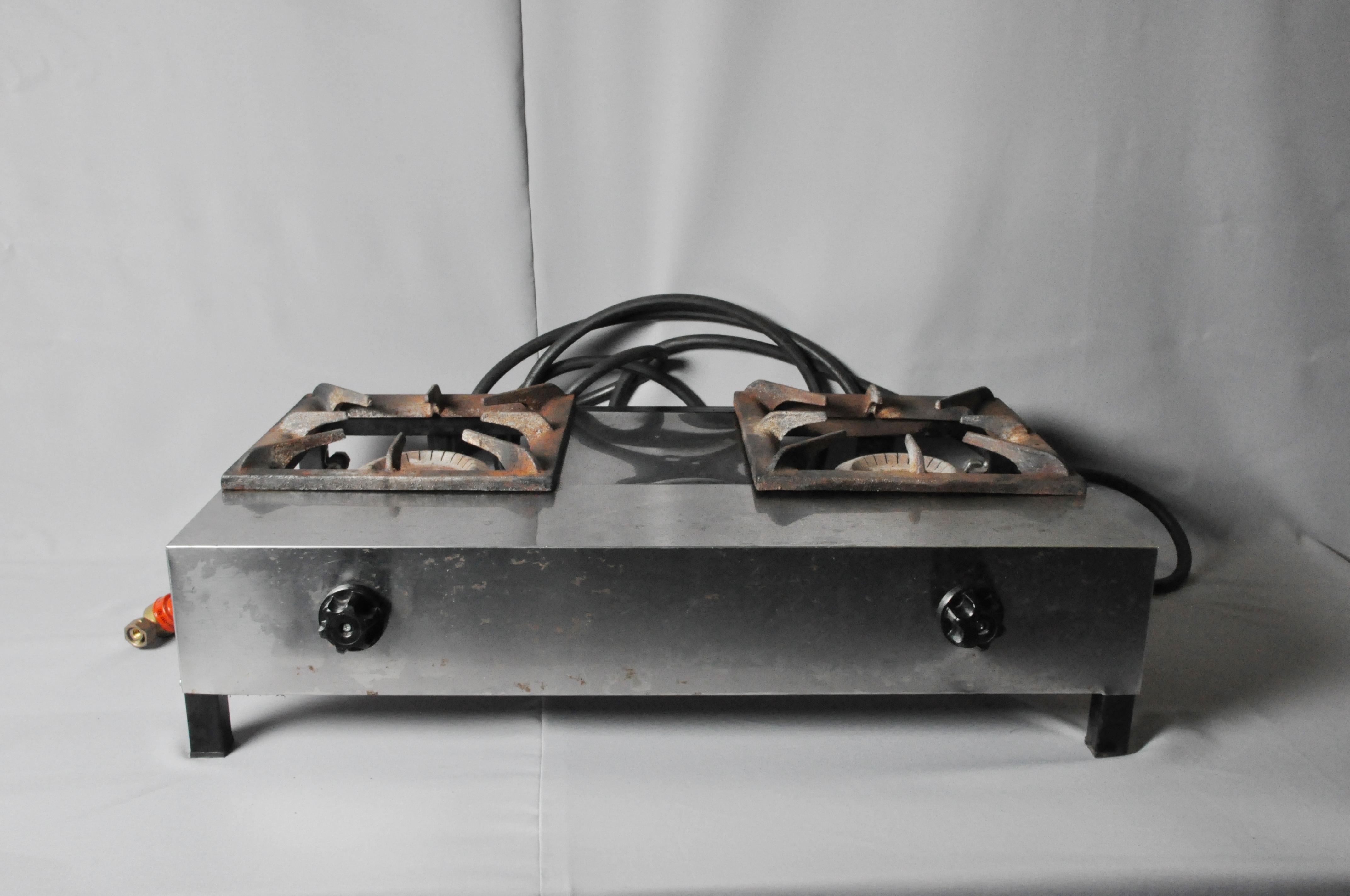 Плита газовая двухкомфорочная PLKO 002