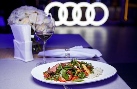 CATERING AT AUDI A8 PRESENTATION