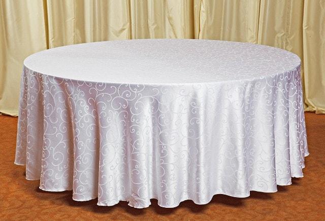 Скатерть для круглого стола с  рисунком