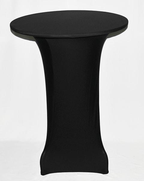 Чехол для барного стола черный