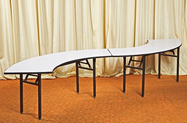 Стол волна для фуршета 2 секции