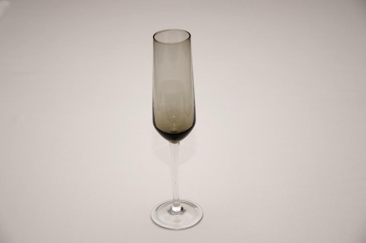 Бокал для шампанского дымчатый