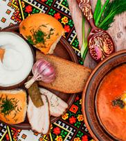 MillHub Ukrainian menu